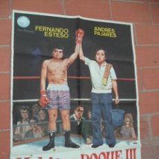 Cine: CARTEL DE CINE 70X 100 APROX MOVIE POSTER VER FOTO YO HICE A ROQUE 3 JANO FERNANDO ESTESO PAJARES. Lote 289198503