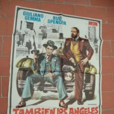 Cine: CARTEL DE CINE 70X 100 APROX MOVIE POSTER VER FOTO TAMBIEN LOS ANGELES COMEN JUDIAS BUD SPENCER. Lote 289198843