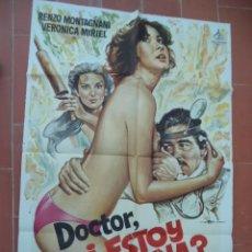 Cinema: CARTEL DE CINE 70X 100 APROX MOVIE POSTER VER FOTO DOCTOR ESTOY BUENA MICHELE MASSIMO TARANTINI. Lote 289261313