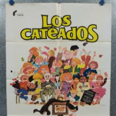 Cine: LOS CATEADOS. DANIEL AUTEUIL, MICHEL GALABRU, MARIA PACÔME PHILIPPE TACCINI AÑO 1980 POSTER ORIGINAL. Lote 289296863