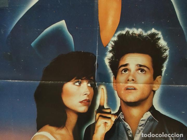 Cine: Mordiscos peligrosos. Lauren Hutton, Jim Carrey, Karen Kopins. AÑO 1985. POSTER ORIGINAL - Foto 5 - 289300228