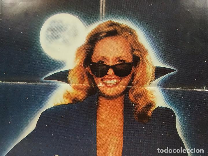 Cine: Mordiscos peligrosos. Lauren Hutton, Jim Carrey, Karen Kopins. AÑO 1985. POSTER ORIGINAL - Foto 6 - 289300228