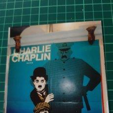 Cine: V 4881 LEO KOUPER CARTEL CHARLY CHAPLIN LE KID 78X58 BUENO ESTADO 176. Lote 289304448