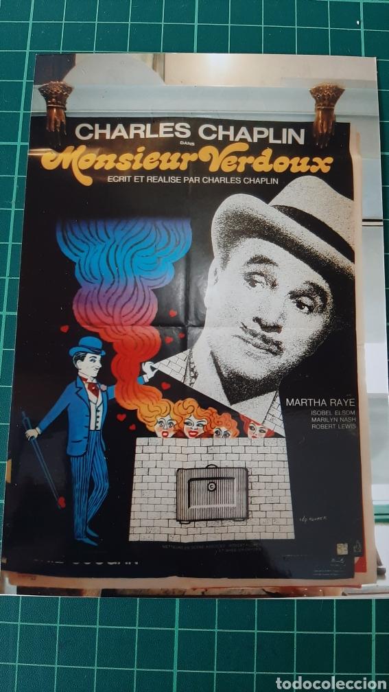 LEO KOUOER CARTEL V 5447 76X58 CHARLES CHAPLIN MONSIEUR VERDOUX 177 BUENO ESTADO (Cine - Posters y Carteles - Comedia)