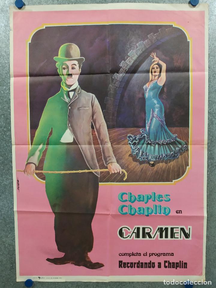 CARMEN. CHAPLIN. . AÑO 1976. POSTER ORIGINAL (Cine - Posters y Carteles - Comedia)
