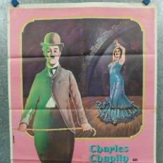 Cine: CARMEN. CHAPLIN. . AÑO 1976. POSTER ORIGINAL. Lote 289305918