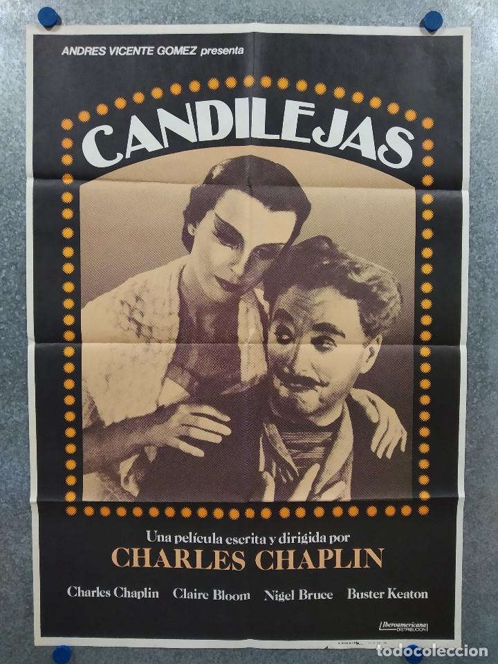 CANDILEJAS. CHAPLIN. AÑO 1983. POSTER ORIGINAL (Cine - Posters y Carteles - Comedia)