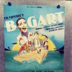 Cine: LA BURLA DEL DIABLO. HUMPHREY BOGART, GINA LOLLOBRIGIDA. AÑO 1980. POSTER ORIGINAL. Lote 289321418