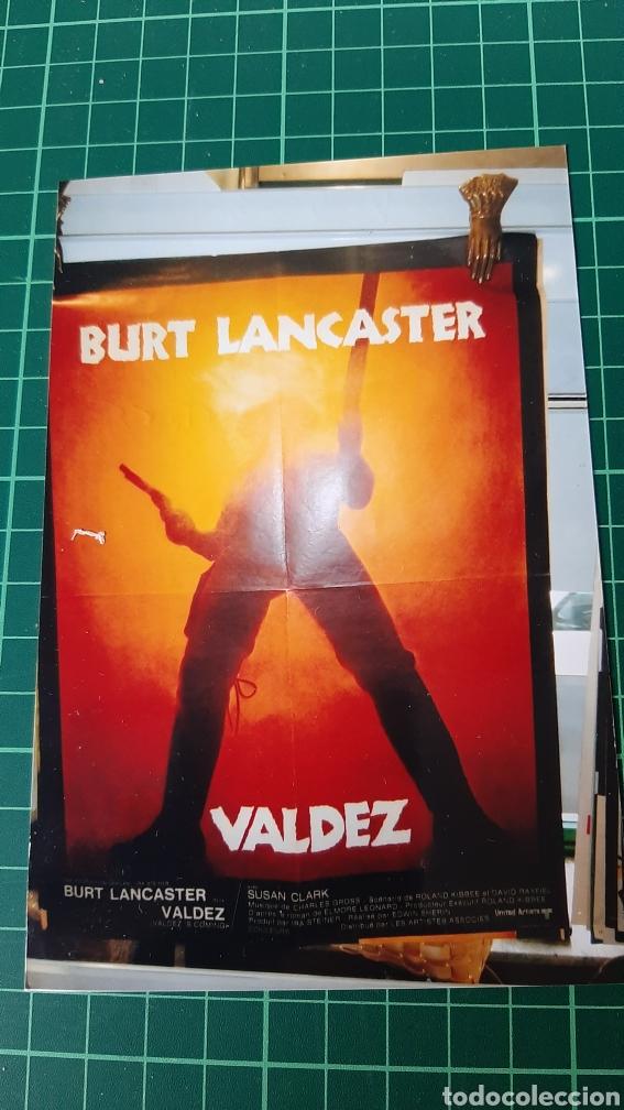 1971 CARTEL PÓSTER AFICHE ORIGINAL VALDEZ BURT LANCASTER V 4308 79.5X58.5 130 SUSAN CLARK (Cine - Posters y Carteles - Westerns)
