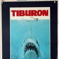 Cine: CARTEL DE CINE TIBURÓN (SPILBERG ). Lote 289580863