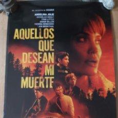 Cine: AQUELLOS QUE DESEAN MI MUERTE - APROX 70X100 CARTEL ORIGINAL CINE (L91). Lote 289607493