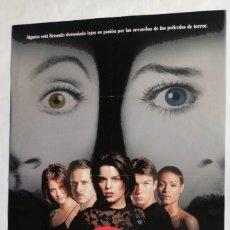Cine: SCREAM 2, CON NEVE CAMPBELL. PÓSTER 68,5 X 100 CMS.1998. Lote 289765048