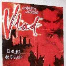 Cine: VLAD, EL ORIGEN DE DRÁCULA, CON JANE MARCH. PÓSTER 62,5 X 98 CMS.1998. Lote 289765738