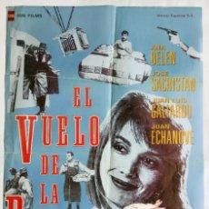 Cine: EL VUELO DE LA PALOMA, CON ANA BELÉN. POSTER 66 X 97. AÑO: 1989 .. Lote 289786993