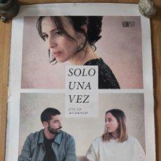 Cine: SOLO UNA VEZ - APROX 70X100 CARTEL ORIGINAL CINE (L92). Lote 289910063