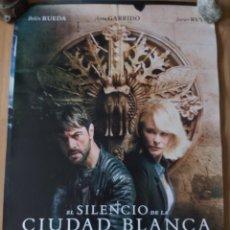 Cine: EL SILENCIO DE LA CIUDAD BLANCA - APROX 70X100 CARTEL ORIGINAL CINE (L92). Lote 289912223