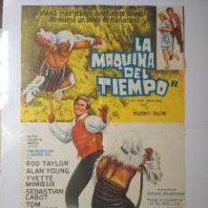 Cine: THE TIME MACHINE (LA MÁQUINA DEL TIEMPO) ORIGINAL 1960 - RARO. Lote 290017018