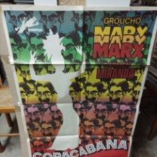 Cine: COPACABANA GROUCHO MARX POSTER ORIGINAL 70X100 M16. Lote 290053928
