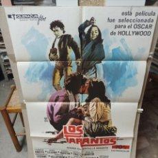 Cine: LOS TARANTOS ANTONIO GADES CARMEN AMAYA POSTER ORIGINAL 70X100 M27. Lote 290073088