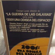 Cine: 2001 UNA ODISEA DEL ESPACIO STANLEY KUBRICK POSTER ORIGINAL 70X100. Lote 290241633