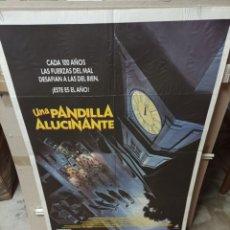 Cine: UNA PANDILLA ALUCINANTE MONSTER SQUAD POSTER ORIGINAL 70X100 M179. Lote 290751068