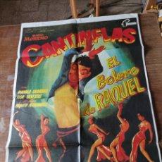 Cine: EL BOLERO DE RAQUEL. CANTINFLAS . ORIGINAL, NO COPIA. Lote 290916003