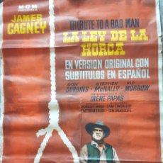 Cine: CARTEL DE LA PELÍCULA EL JUEZ DE LA HORCA. Lote 290983283