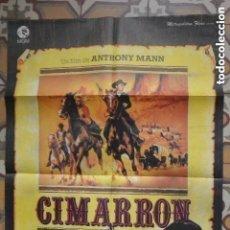 Cine: CARTEL POSTER CINE CIMARRON ANTHONY MANN. Lote 291465483