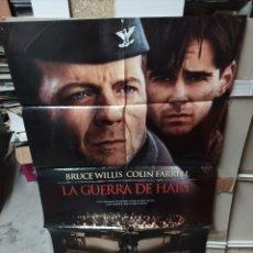 Cine: LA GUERRA DE HART BRUCE WILLIS POSTER ORIGINAL 70X100 YY (2760). Lote 291982548