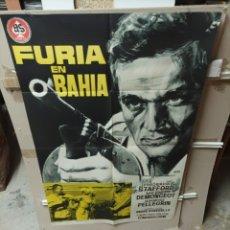 Cine: FURIA EN LA BAHIA POSTER ORIGINAL 70X100 YY(2772). Lote 291994523