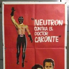Cine: CDO M898 NEUTRON CONTRA EL DOCTOR CARONTE WOLF RUVINSKIS MARCO POSTER ORIGINAL 70X100 ESTRENO. Lote 292049968