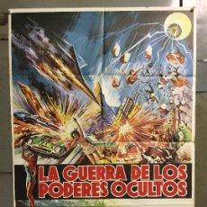 Cine: CDO M910 LA GUERRA DE LOS PODERES OCULTOS ESUPAI JUN FUKUDA TOHO POSTER ORIGINAL 70X100 ESTRENO. Lote 292079483