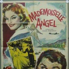 Cine: PN22D MADEMOISELLE ANGEL ROMY SCHNEIDER AUTOMOVILISMO POSTER ORIGINAL 70X100 ESTRENO. Lote 292272438