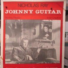 Cine: CARTEL ORIGINAL - JOHNNY GUITAR - NICHOLAS RAY - JOAN CRAWFORD - 100 X 70. Lote 292315668