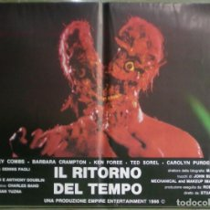 Cine: VB93D RE-SONATOR FROM BEYOND STUART GORDON H P LOVECRAFT SET COMPLETO 6 POSTERS ORIG ITALIANOS 47X68. Lote 292409788