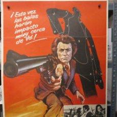 Cinema: CARTEL ORIGINAL - HARRY EL FUERTE - CLINT EASTWOOD - 100 X 70. Lote 292537498