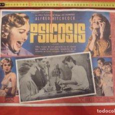 Cine: CINE MEXICANO ALFRED HITCHCOCK PSICOSIS 42X32. Lote 292609718