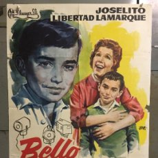 Cine: CDO M972 BELLO RECUERDO JOSELITO LIBERTAD LAMARQUE JANO POSTER ORIGINAL 70X100 ESTRENO. Lote 293431843