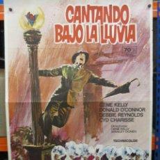 Cine: CARTEL ORIGINAL DE EPOCA - CANTANDO BAJO LA LLUVIA - GENE KELLY - 100 X 70. Lote 293439303