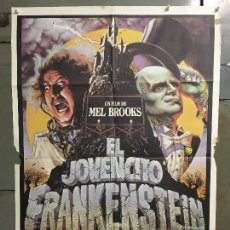 Cine: CDO N010 EL JOVENCITO FRANKENSTEIN MEL BROOKS GENE WILDER POSTER ORIGINAL 70X100 ESTRENO. Lote 293453488