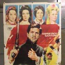 Cine: CDO N021 EL ESCANDALO ESPARTACO SANTONI POSTER ORIGINAL 70X100 ESTRENO. Lote 293487938