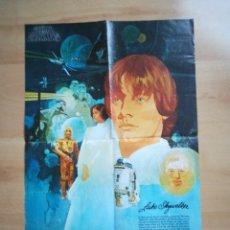 Cine: LA GUERRA DE LAS GALAXIAS - STAR WARS - CARTEL 20TH CENTURY FOX PARA COCA COLA - 1977 - SKYWALKER.. Lote 293543378