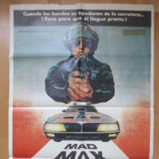 Cine: CARTEL CINE, MAD MAX SALVAJES DE AUTOPISTA, BYRON KENNEDY, MEL GIBSON, 1979, C764. Lote 293600323
