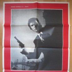 Cine: CARTEL CINE, HARRY, EL EJECUTOR, CLINT EASTWOOD, 1977, C178. Lote 293612913