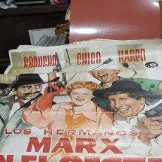 Cine: 1METRO X70 ESQUINA ROTA LOS HERMANOS MARX EN EL OESTE GRAUCHO CHICO HARPO ALVARO ALVARO PINTOR. Lote 293631203