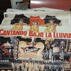 Cine: 1METRO X 70 ORIGINAL CARTEL CANTANDO BAJO LA LLUVIA 16.072 /82 GENE JELKY Y STANLEY DONEN. Lote 293632123