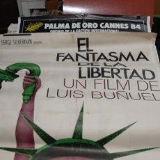 Cine: 70X1 METRO ORIGINAL EL FANTASMA DE LA ESTATUA DE LA LIBERTAD LUIS BUÑUEL 1975 M 9.409 EDICOLOR FOX. Lote 293634763