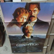 Cine: GRINGO VIEJO GREGORY PECK POSTER ORIGINAL 70X100 M318. Lote 293774943