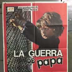 Cine: CDO N051 LA GUERRA DE PAPA LOLO GARCIA ANTONIO MERCERO MIGUEL DELIBES POSTER ORIGINAL 70X100 ESTRENO. Lote 293782158