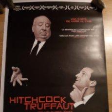 Cine: HITCHCOCK/TRUFFAUT - APROX 70X100 CARTEL ORIGINAL CINE (L93). Lote 293838048